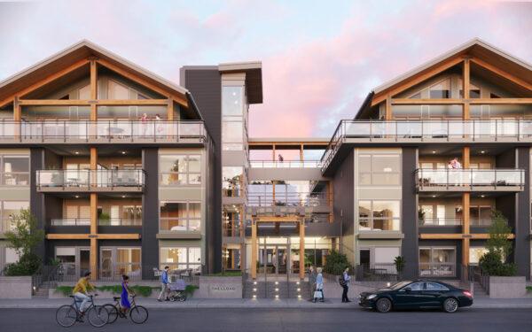 Lloyd rental apartment building entrance