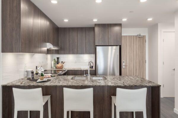 kitchen in Lloyd rental apartment