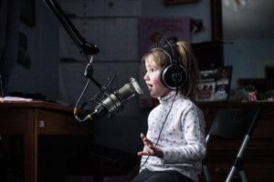 Little podcaster