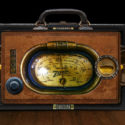 Steampunk Radio, Photoshop Composite