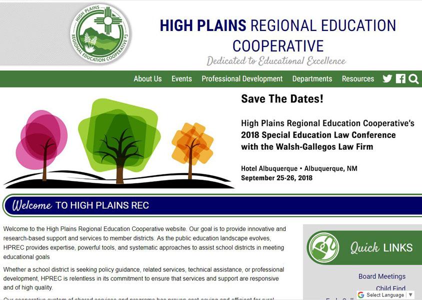 High Plains REC