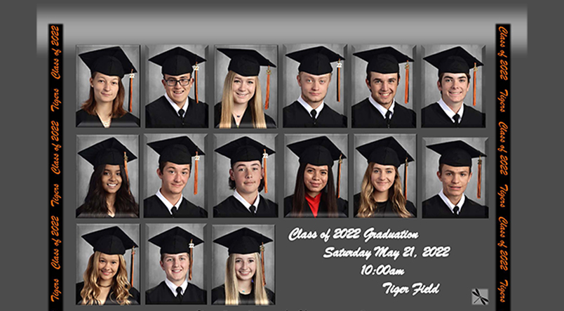 Collage of seniors, Class of 2021