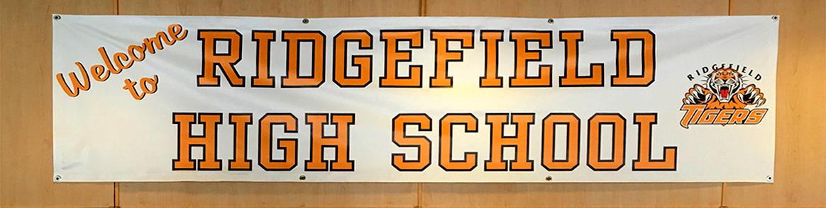 Ridgefield High School Banner