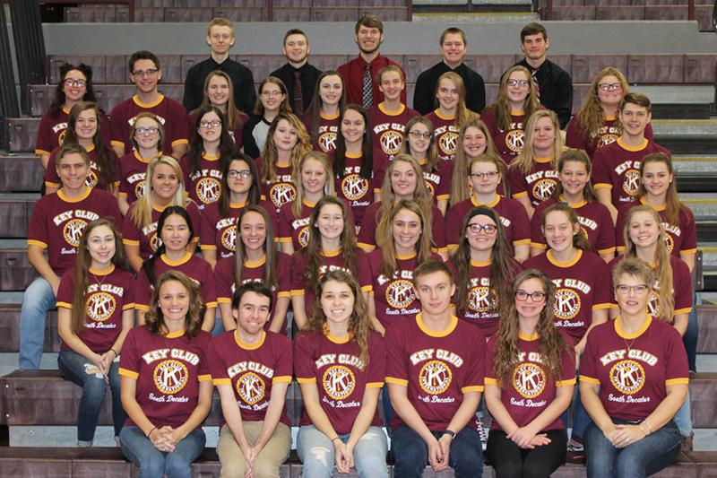 South Decatur Jr/Sr High School Key Club members