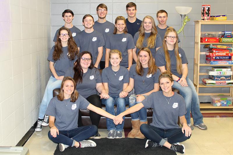 South Decatur Jr/Sr High School Peer Helpers Club members