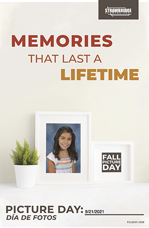 Picture Day Memories Last a Lifetime flyer