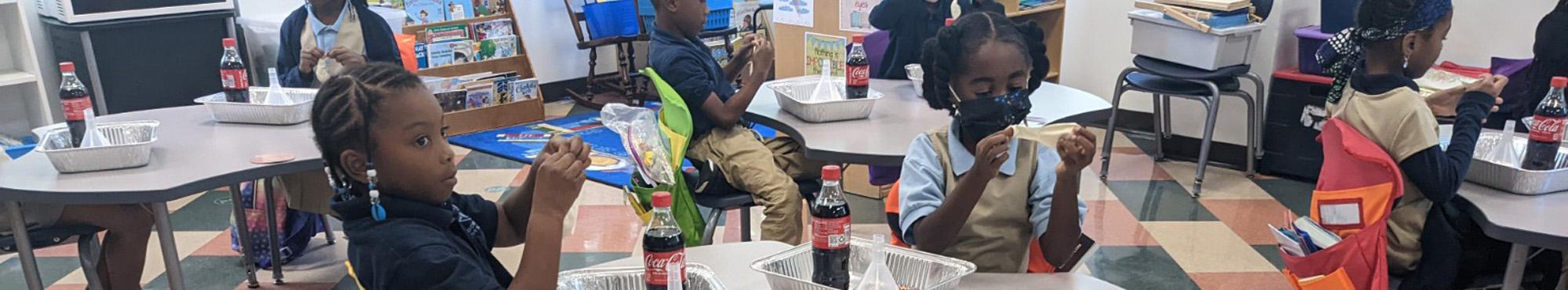 Teacher engaging with student via virtual classroom