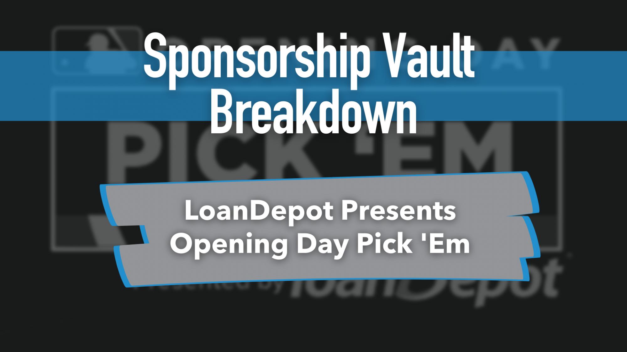 Loan Depot MLB Sponsorship Opening Day
