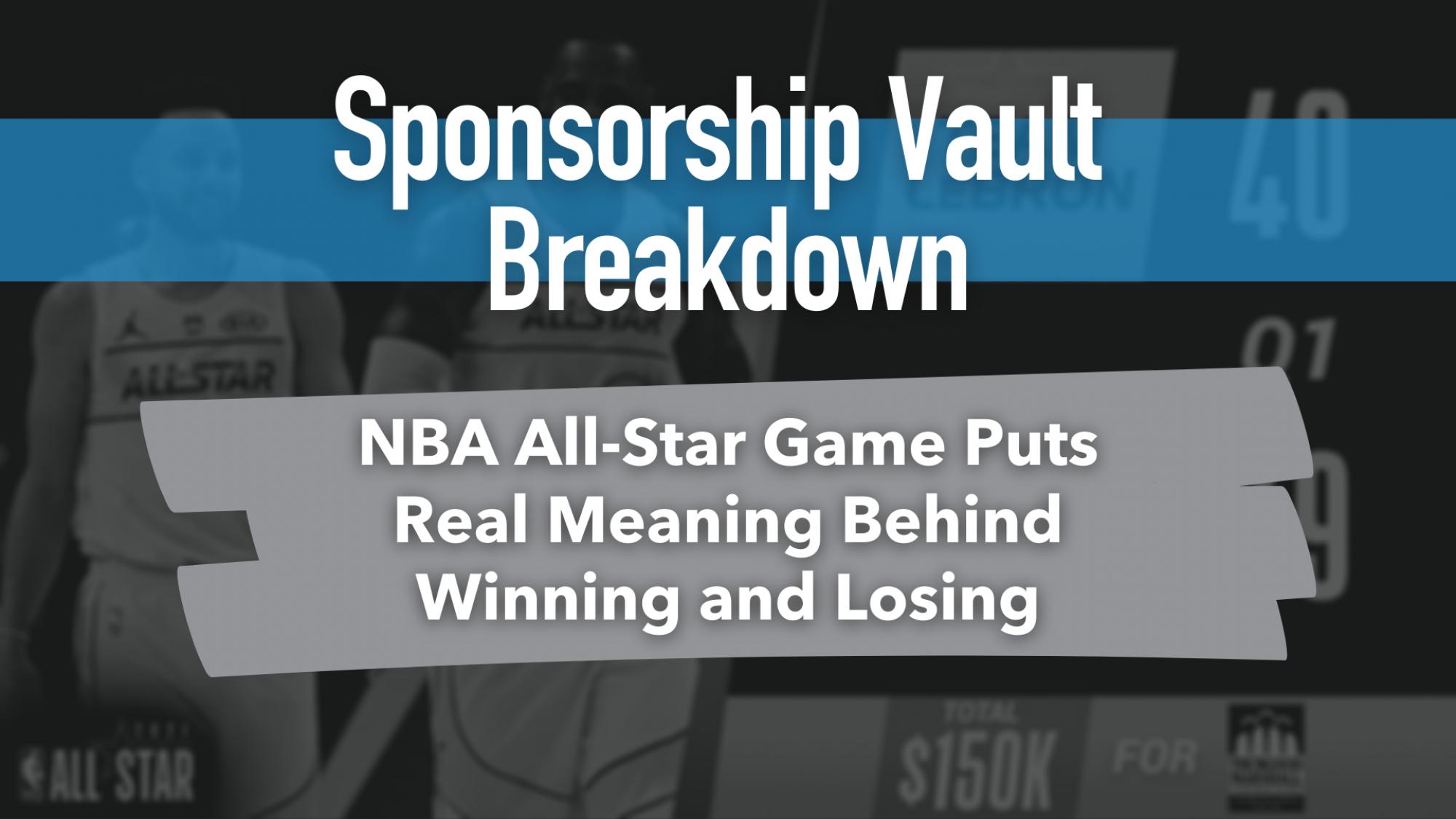 NBA Allstargame sponsorship example