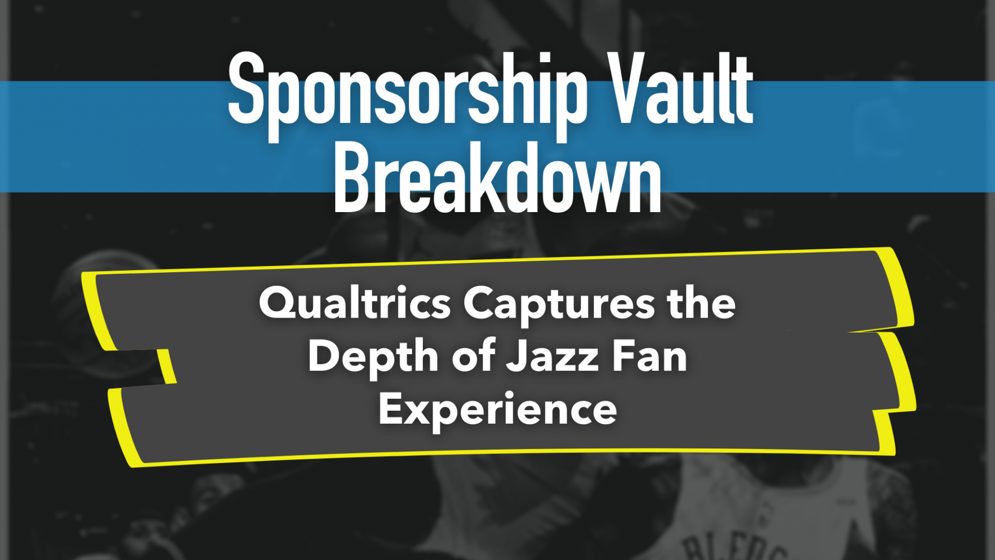 Qualtrics and the Jazz Photo Experience Partnership