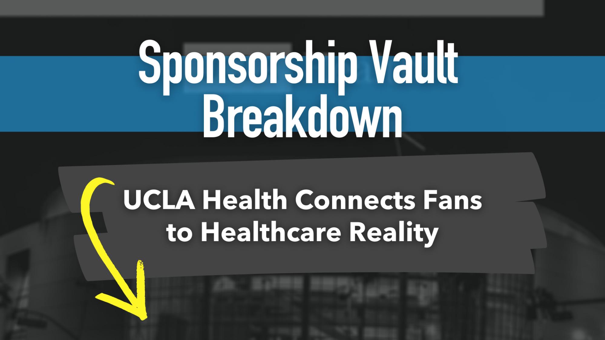 UCLA Health and Laker Blog header Sponsorship vault
