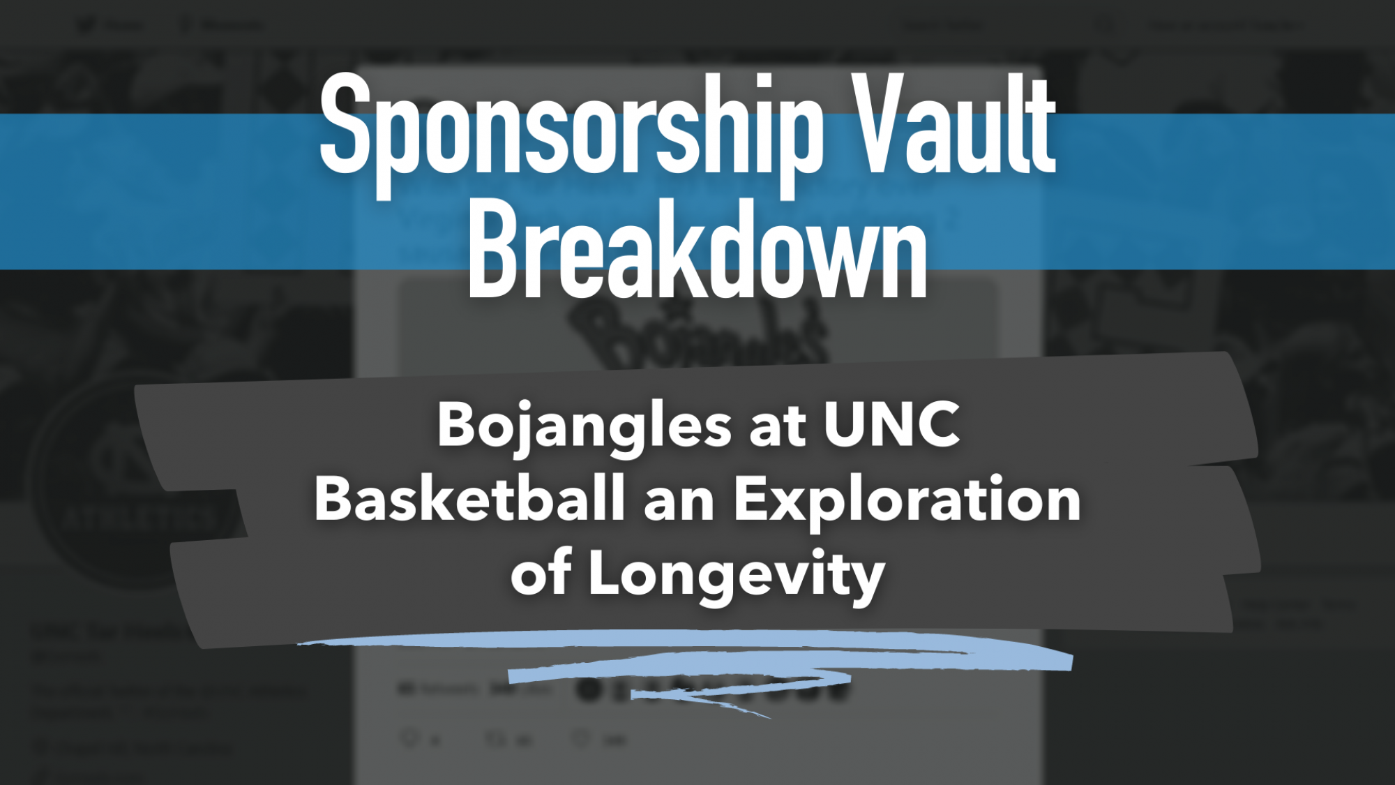 UNC and Bojangles Sponsorship and free biscuits