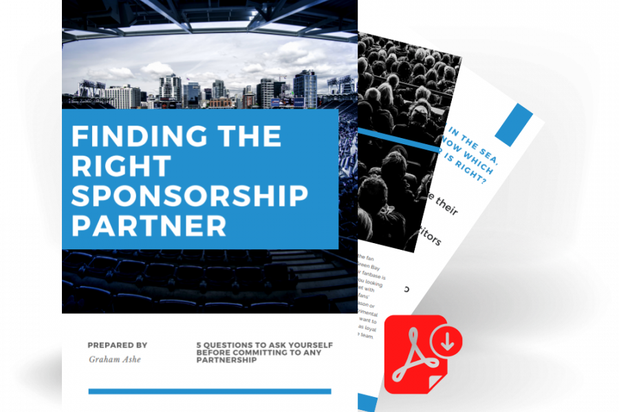 Sponsorship Finding the Righ P Artner Template
