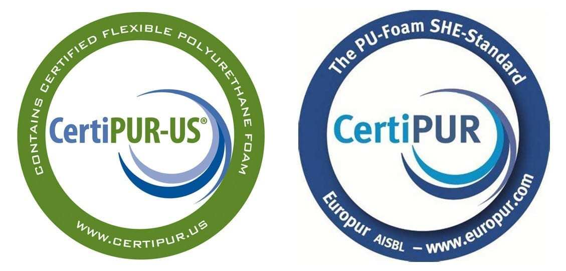 CertiPUR and EuroPUR approved