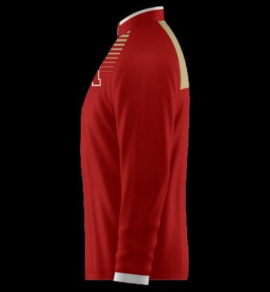 Cardinal Quarter Zip Jacket Long Sleeve