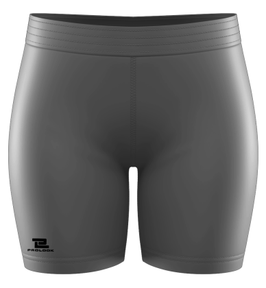 Compression Mid Thigh Short Blank Template