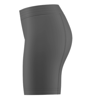 Compression Short Blank Template
