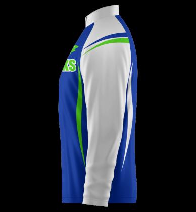 Hawks Quarter Zip Jacket Long Sleeve