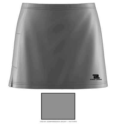 Tennis Skort Blank Template