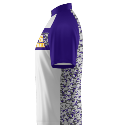 Vikings Quarter Zip Jacket Shorts Sleeve