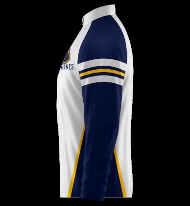 Wolverines Quarter Zip Jacket Long Sleeve