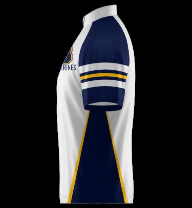 Wolverines Quarter Zip Jacket Shorts Sleeve