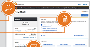 Optum HSA: Upgraded Online Experience