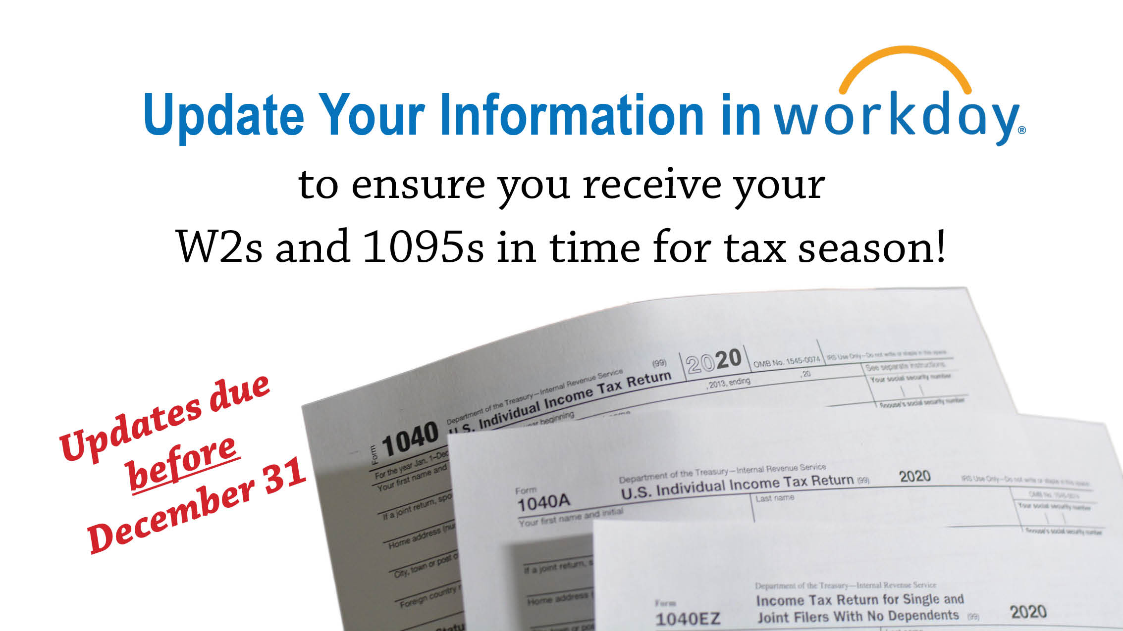 Update your Information in Workday