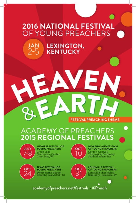 2015 Preaching Theme HEAVEN & EARTH