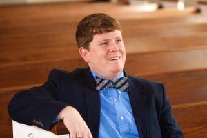 Andrew Corley, Master of Divinity Student at Gardner-Webb University; Fall 2015.