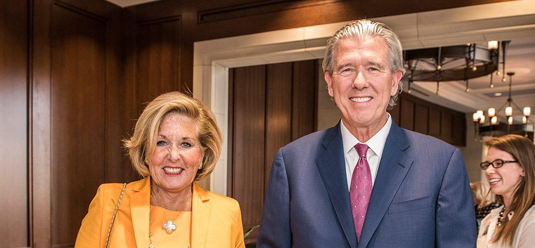 Cordia Harrington Honored for Longtime Support for Belmont Student Scholarships