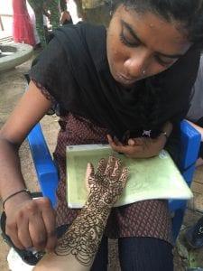 First henna!