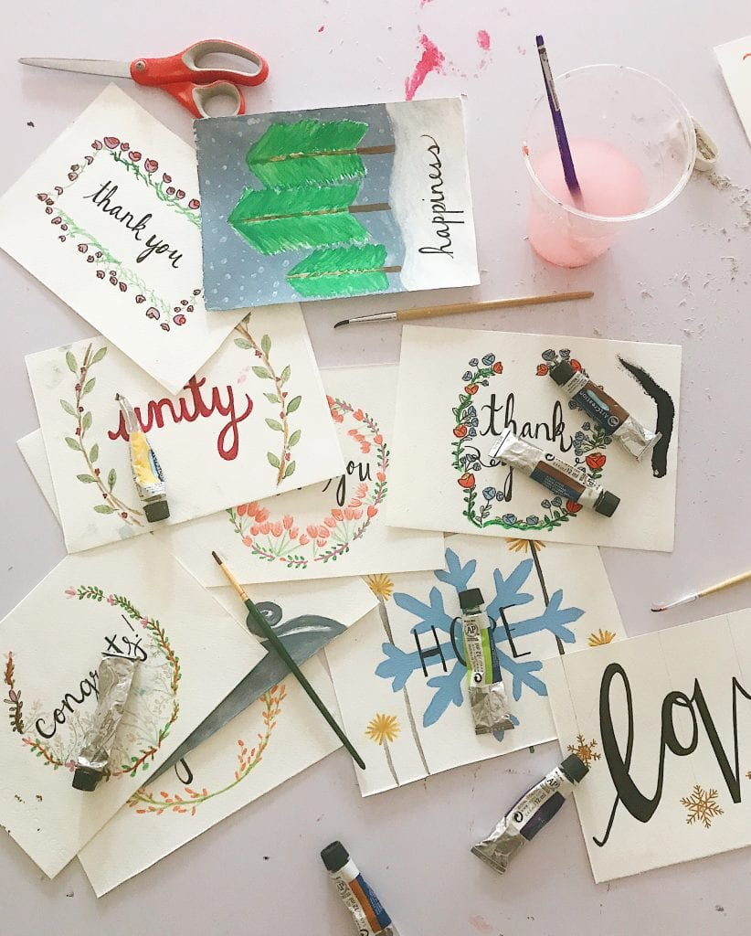 Keep an eye out for Urban Light's greeting cards!