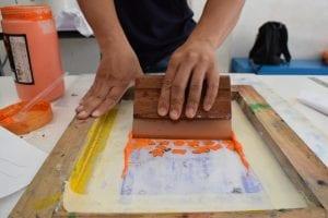 Screenprinting workshop - the social enterprise is in development!