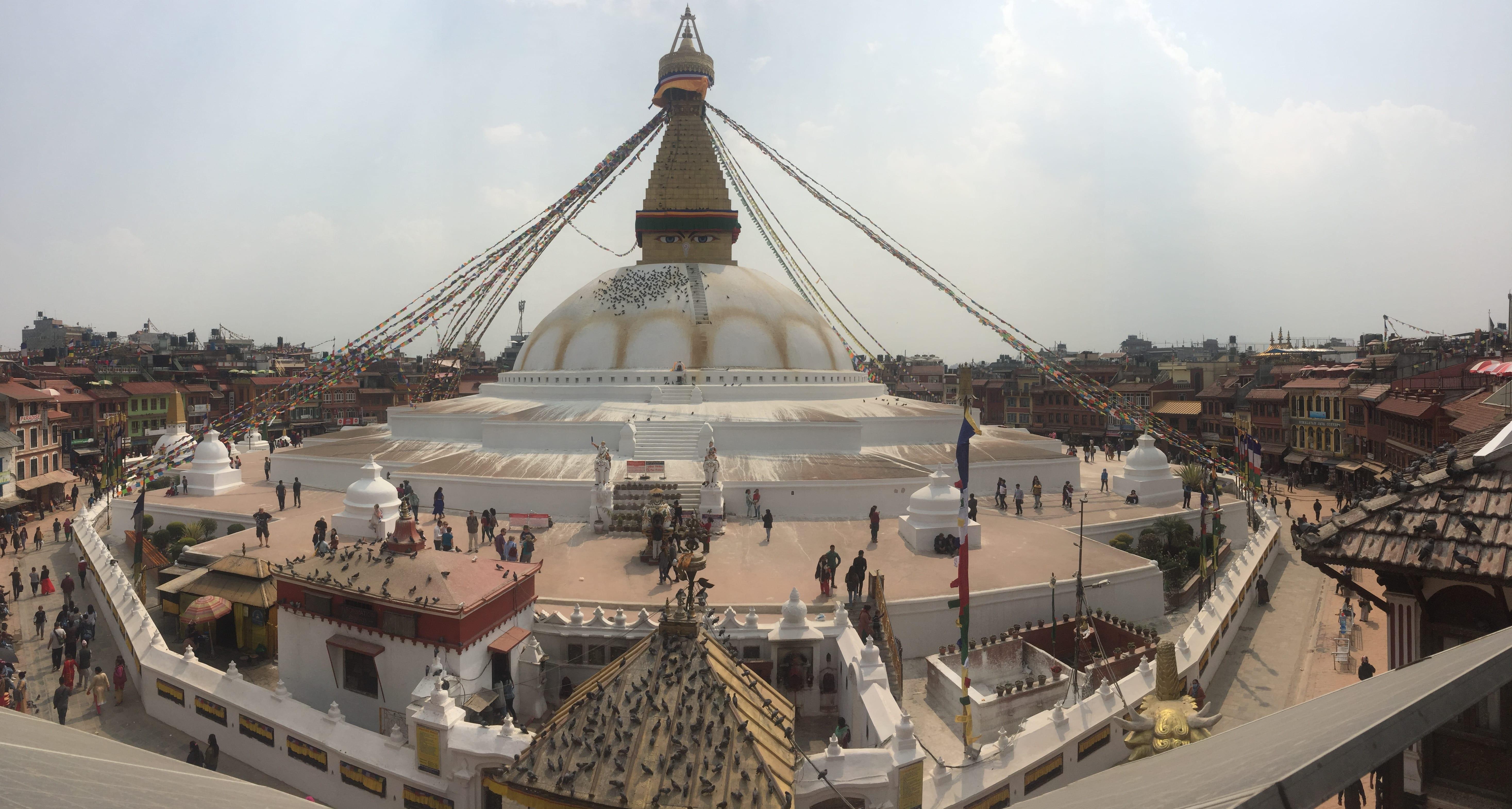 Boudanath Stupa.