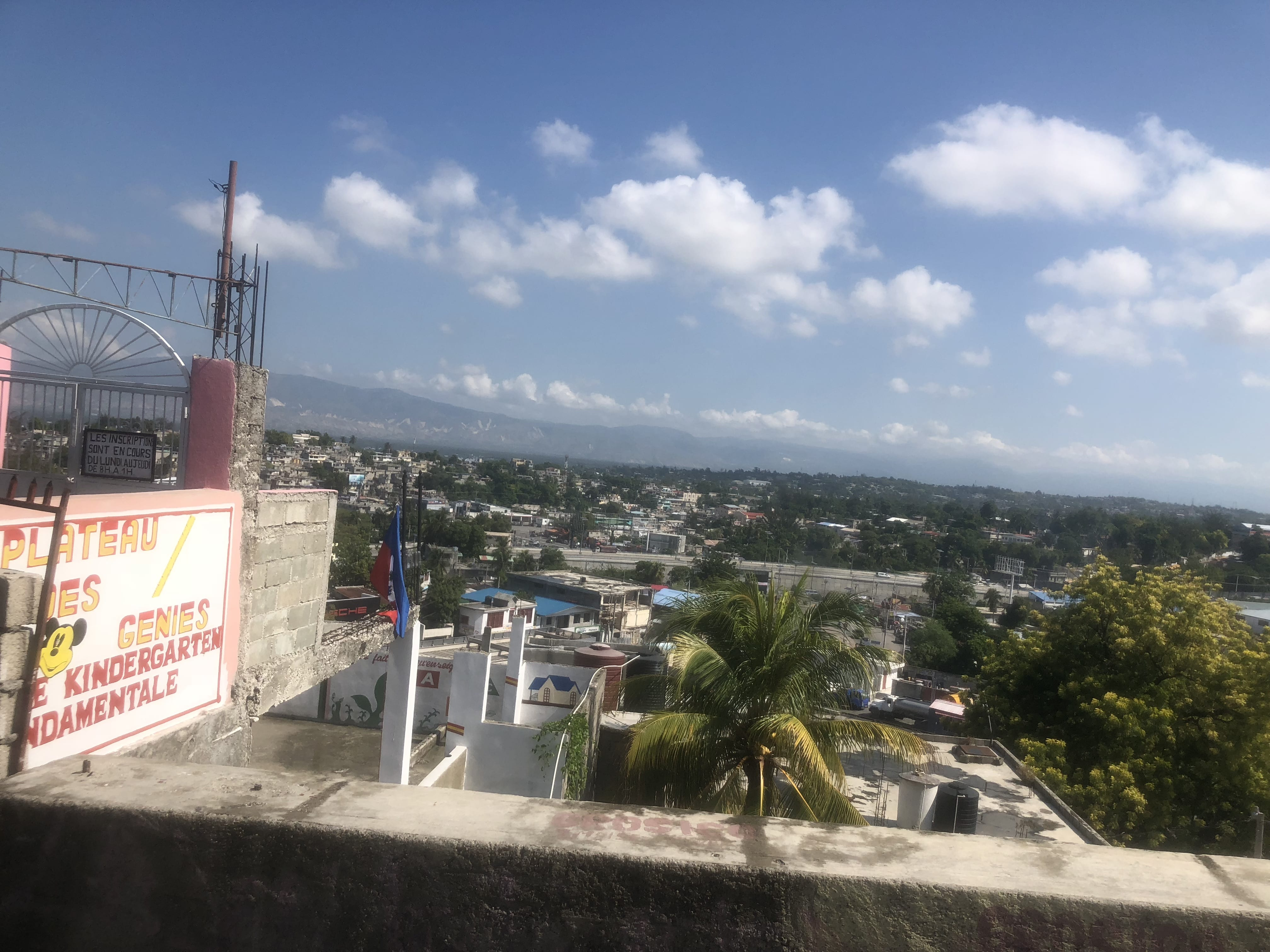 A view of Port au Prince from Petionville