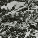 Early aerial view of Ward Belmont