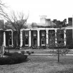 Aftermath of Blanton Hall burning
