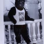 Original Belmont Bruin mascot