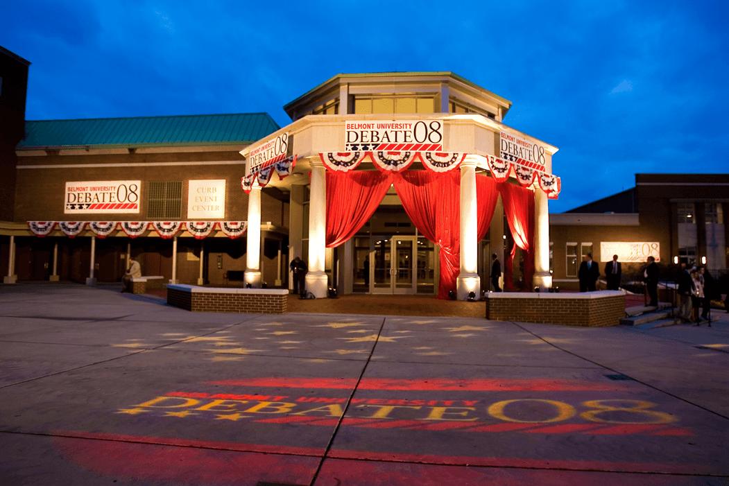Belmont hosts 2008 town hall presidential debate