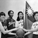 Belmont Rebelettes with the national team of the Republic of China