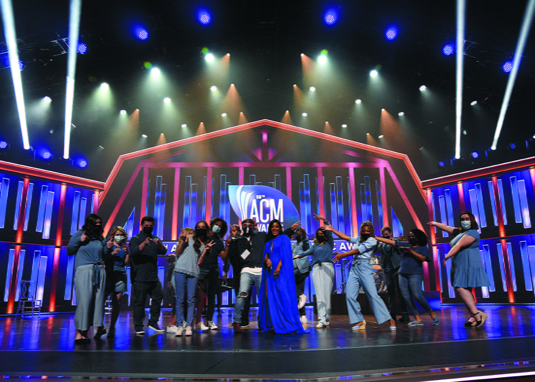 56th Academy of Country Music Awards at the Grand Ole Opry on April 18, 2021