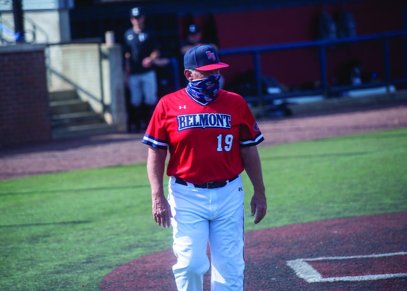 Baseball against Lipscomb at Rose Park at Belmont University in Nashville, Tennessee, April 6, 2021.