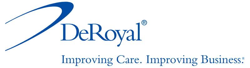 deRoyal - Improving Care. Improving Business. logo