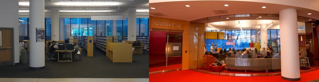 Transformation from media stacks to CURVE