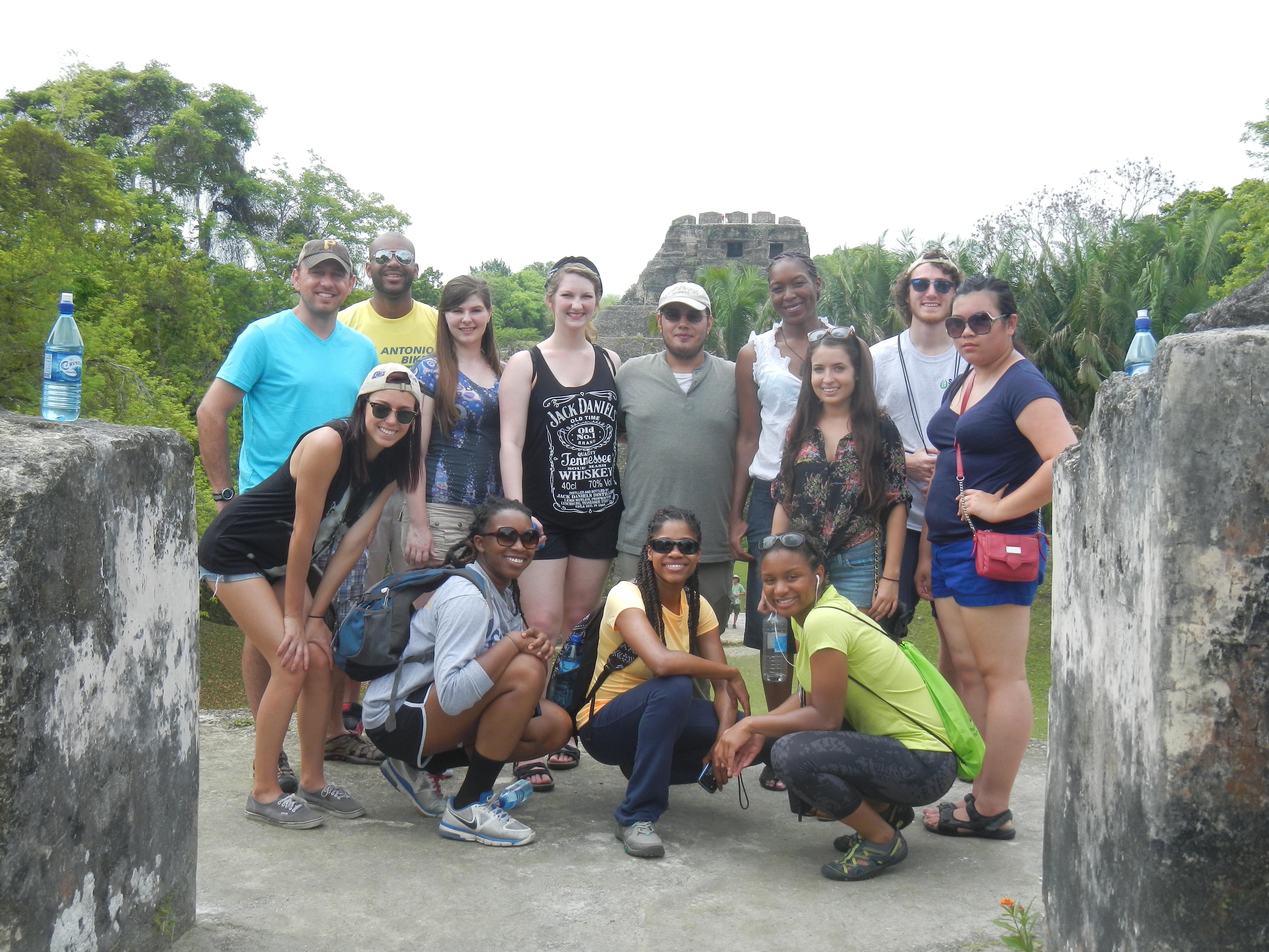 Climb Xunantunich Maya Ruin