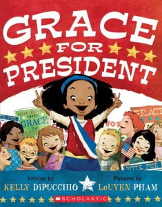 The cover of the book is titled Grace For President