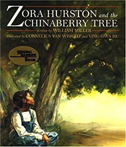 Book cover- Zora Hurston and the Chinaberry Tree