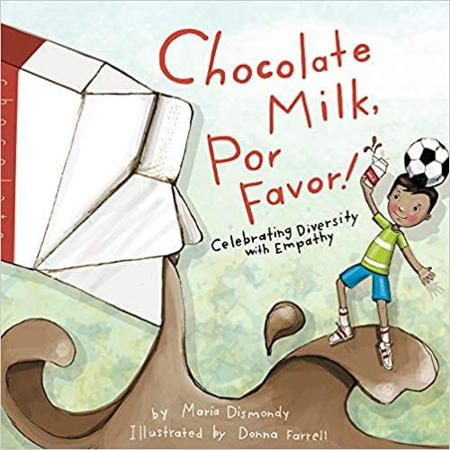 book cover of chocolate milk, por favor