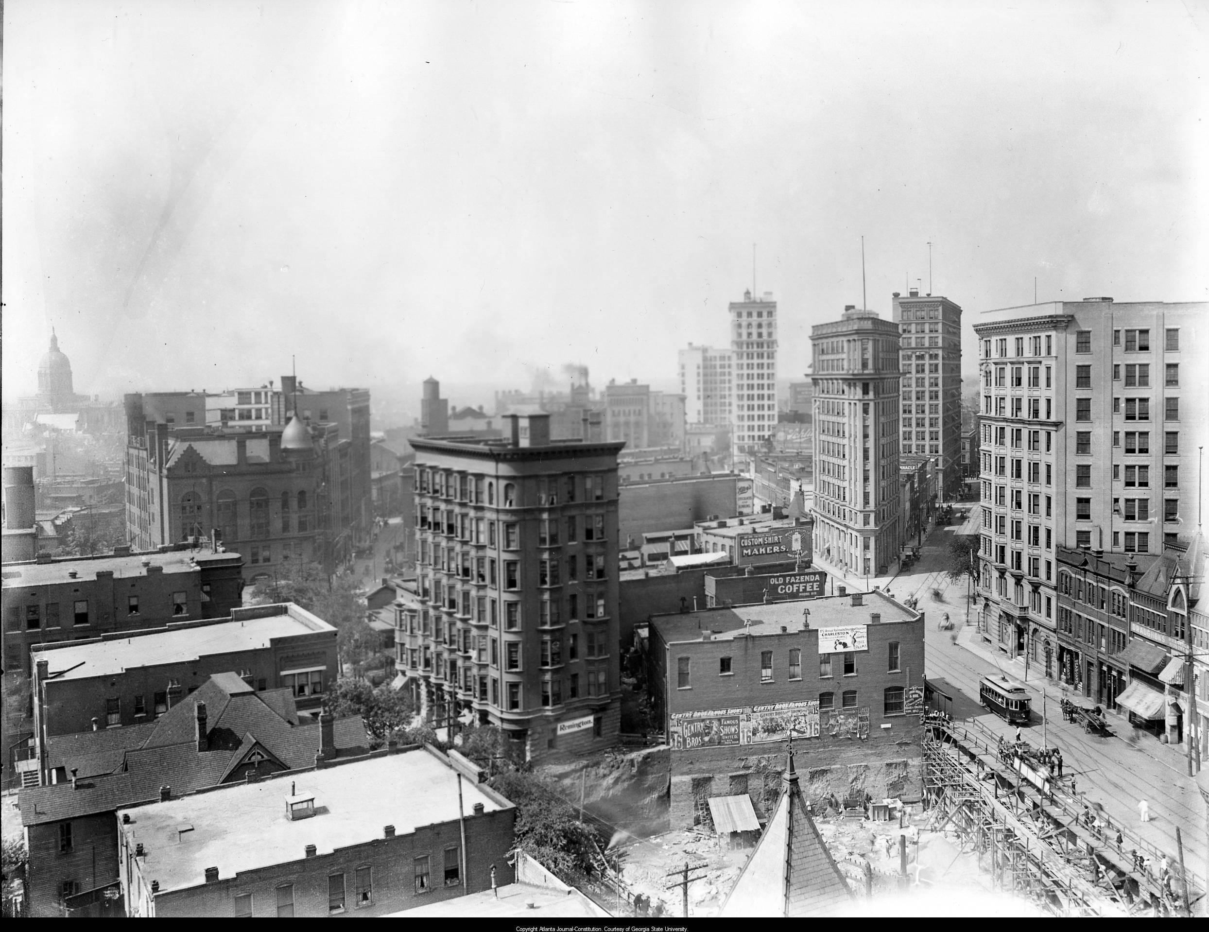 Atlanta S Rising Skyline Through The Years In Photos